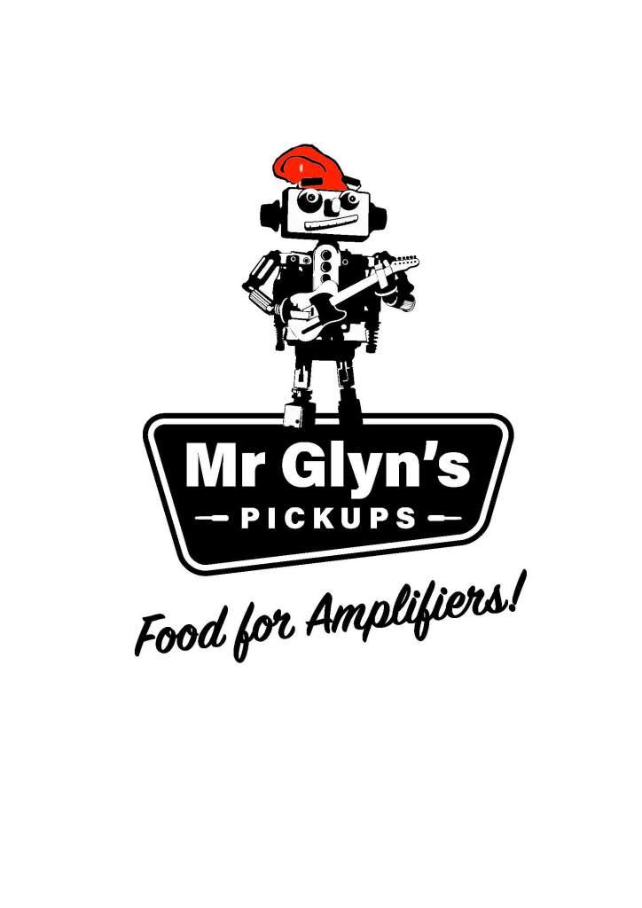 Mr Glyns Pickups Logo - Roboguy