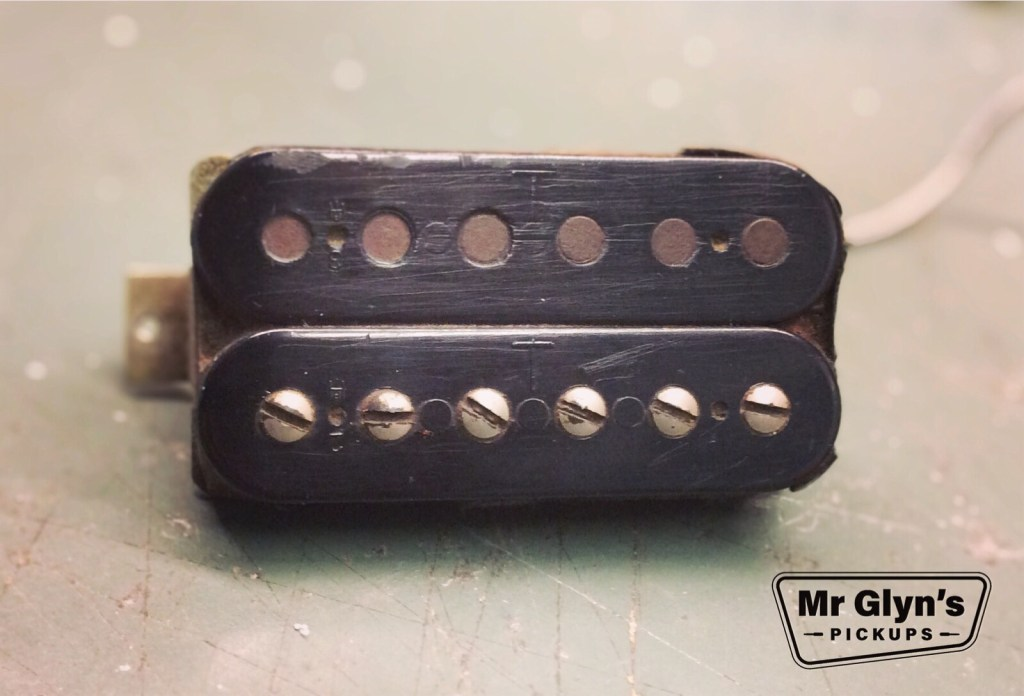 Mr Glyns Pickups Gibson t top